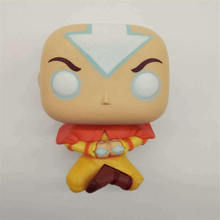 AOSST pops Avatar Aang on airscooters model toy exclusive Vinyl Figure Collectible Model gift 2017 exclusive glow in the dark funko pop original star wars qui gon jinn holographic vinyl figure collectible model toy