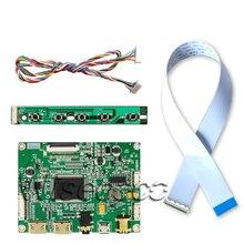 30pin edp 2 MINI hdmi USB Power controller driver board for DIY project  N140HGE-EA1 100% work free shipping n156hge eg1 lp156wf4 spb1 lp156wf4 spu1 n156hge ea1 n156hge eb1 b156han01 2 1920x1080 ips edp 30 pin