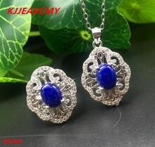 Kjjeaxcmy эксклюзивные украшения из серебра 925 пробы инкрустированные