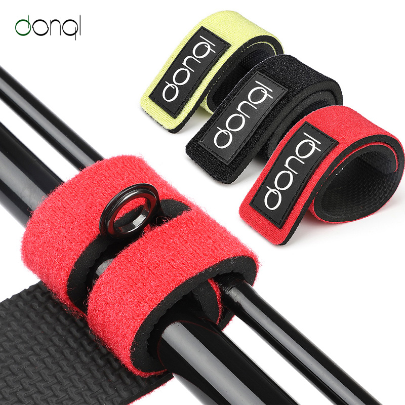 DONQL Elastic Bandage Fishing Rod Tie Strap Accessories For Carp Fish Pole Guide Ring Fishing Rod Holder Belt Strap Suspenders