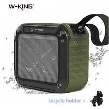 مكبر صوت بخاصية البلوتوث قابل للنقل من دبليو كينج S7 مقاوم للماء لاسلكي للموسيقى Subwoofe صندوق راديو مضاد للسقوط مكبر صوت لاسلكي بالبلوتوث TF بطاقة مكبرات الصوت