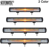 23 26 28 32 Inch 3 Row Led Bar 288W 324W 360W 396W 432W 4x4 Off road Led Light Bar For 12V 24V SUV ATV Truck Driving Lights