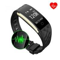 2017 Newest Smart Wristwatch Waterproof Mens Watch Heart Rate Monitor Smart Bracelet Sleep Tracker Bluetooth Smart
