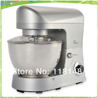 Бесплатная доставка CE 5l коммерческих миксер для теста электрическая машина тесто смеситель автоматическое пшеничной муки смеситель тесто