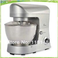 Free shipping CE 5L commercial dough mixer machine electric dough mixer machine automatic wheat flour mixer machine dough maker