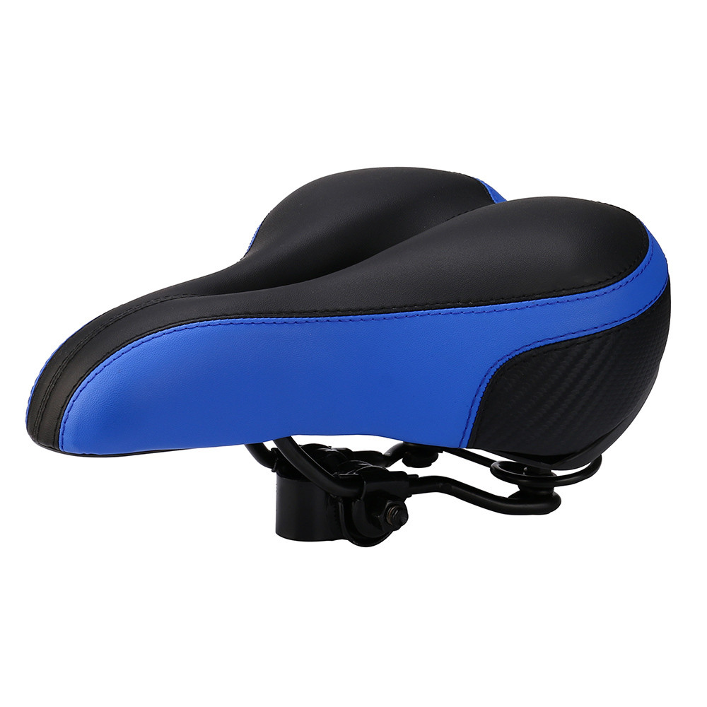 Wide Big Bum Bike Bicycle Gel Cruiser Extra Comfort Sporty Soft Pad Saddle Seat