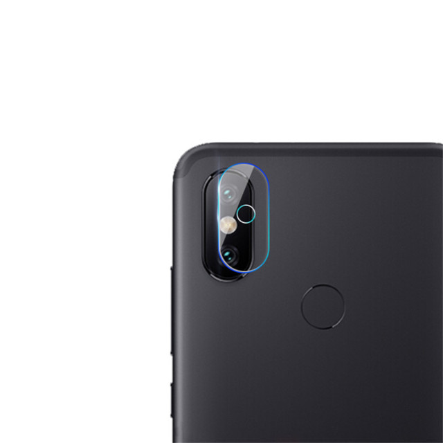 new arrival 4d59e dd148 US $1.6 25% OFF|2 PCS clear Camera Lens Protector Protection Film For  xiaomi MI A2 / MI A2 lite tempered glass Back Cover for xiaomi Mi A2  Film-in ...