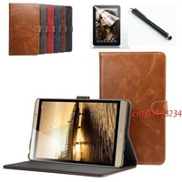 New Listing Luxury PU Leather Cover Case For Huawei Mediapad M2 8 0 Case For Huawei