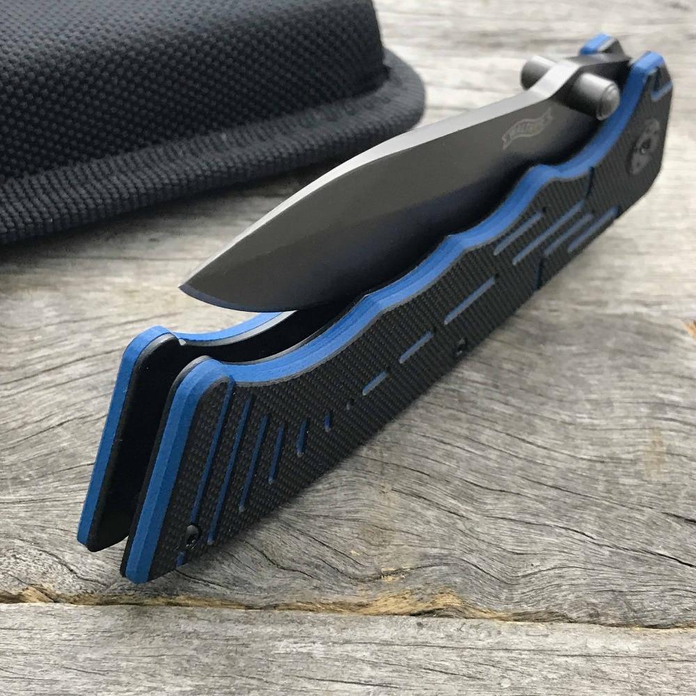 LDT P22 TAC összecsukható kés 440SS kés G10 fogantyú katonai - Kézi szerszámok - Fénykép 6