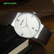 SANDA Top Brand Luxury Men's Wristwatch