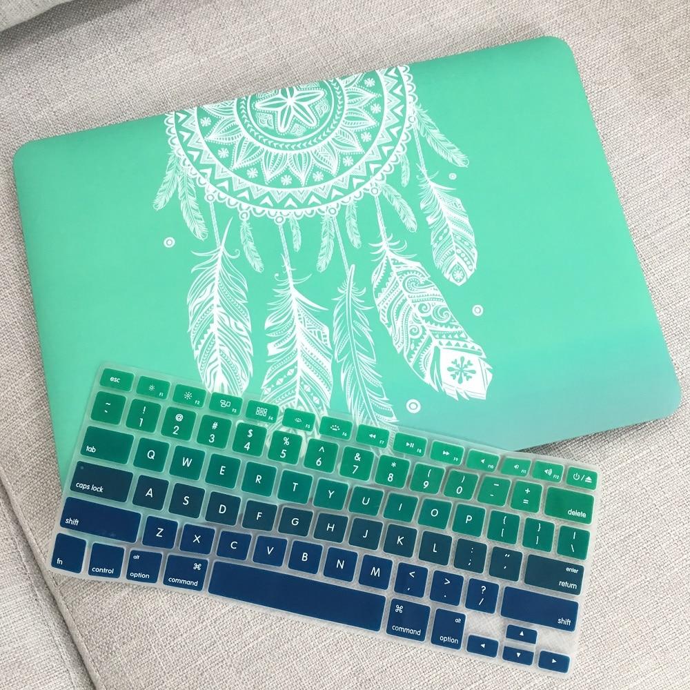 Estuche rígido de plástico con cubierta de teclado para MacBook Air - Accesorios para laptop - foto 6