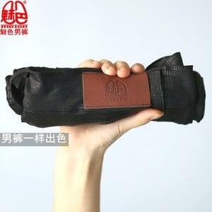 Image 1 - קוריאני אופנה גברים מכנסיים גבוהה אלסטי דק רך עירום ללבוש Experienc חותלות שיער מעצב מכנסי עיפרון ישר סקיני מכנסיים
