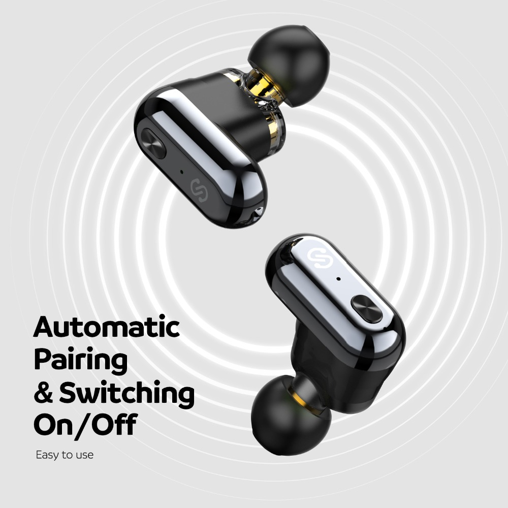 Image 3 - SoundPEATS True Wireless Earbuds Bluetooth 5.0 in Ear Stereo IPX6 Earphones Dual Dynamic Drivers Bluetooth Sweatproof Headset-in Bluetooth Earphones & Headphones from Consumer Electronics