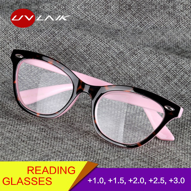 Damenbrillen Bekleidung Zubehör FäHig Uvlaik Katze Auge Lesebrille Frauen Brillen Für Lesen Hyperopie Presbyopie Dioptrien Brillen Vintage Brillen Die Nieren NäHren Und Rheuma Lindern