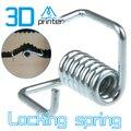O envio gratuito de Atacado 10 pcs 3D impressão acessórios de Tensionamento de Travamento/Mola De Torção para a largura da correia de 6mm Makerbot Reprap