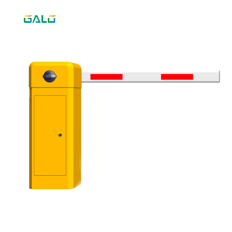 220VAC Heavy Duty Parking Boom Barrier Automatic Barrier Gate With 4m Boom