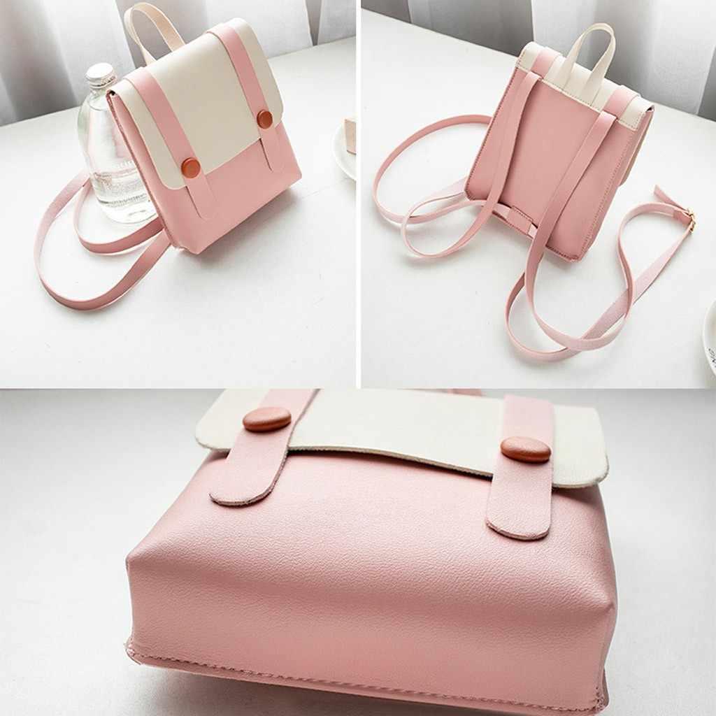 Школьные сумки для девочек-подростков, модные милые женские сумки на плечо, Kawaii, женские Лоскутные школьные рюкзаки, mochila