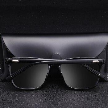 Sunglasses Men Polarized Oversized Mirror Driving Sun Glasses Men Women Brand Designer Retro Vintage Driver Goggles UV400 1