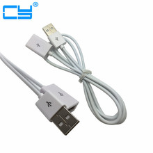 100pcs Lot 1m 3ft USB 2 0 Male to Female Extension Cable for PC Laptop By