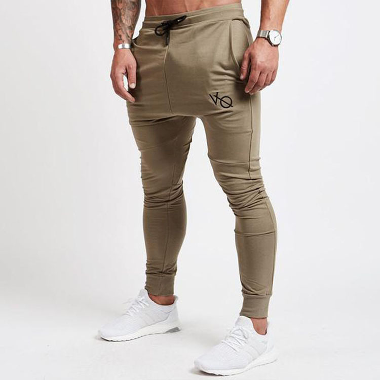 Trousers Fitness-Pants Bottom-Tied Jogging Winter Men's Fashion New Hip-Hop Trend And