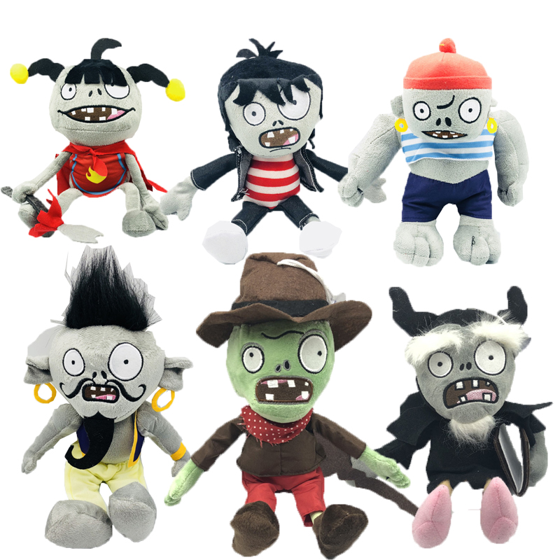 30cm Plant vs zombies Plant Plush Toys stuffed soft plush toys for kids Baby Doll in Stuffed Plush Plants from Toys Hobbies