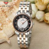 ยี่ห้อผู้หญิงคลาสสิกธุรกิจนาฬิกาปฏิทินนาฬิกาข้อมือนาฬิกา Vintage จำนวนโรมันนาฬิกาควอตซ์ Analog Reloj