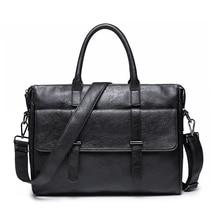 KUDIAN ayı basit ünlü marka iş erkek evrak çantası çanta lüks deri Laptop çantası adam omuzdan askili çanta bolsa maleta BIG001 PM49