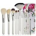 Função Completa 12 pcs Pincéis de Maquiagem Conjunto de alta Qualidade, Professional Make Up Brush Set, ferramentas de beleza maquillage pinceaux