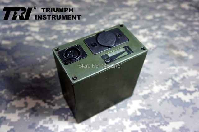 US $116 0 |TRI PRC 117G Battery box battery pack (not including battery)  PRC 117-in Walkie Talkie from Cellphones & Telecommunications on