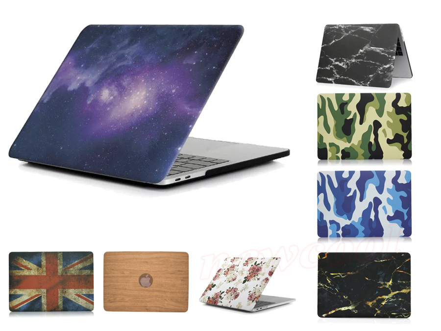 Camouflage Marble Grain Matte Hard Case For Apple 2016 New MacBook Pro 13 inch 15 A1706
