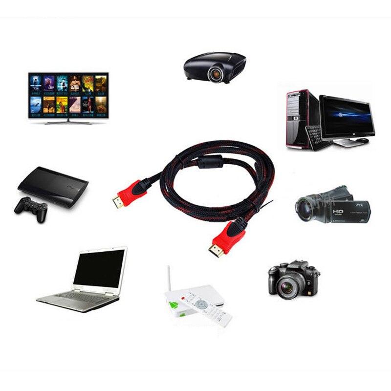 1 Stks Nieuwste Hdmi 4 K Kabel 1080 P V1.4 Av Hd 3d Hdmi Cabel Voor Ps3 Projector Computer 1.5 M