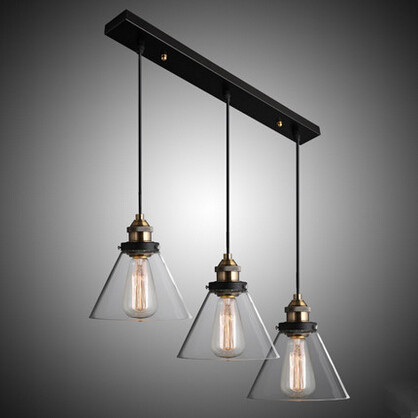 RH Loft Style Pendant Lamp 3 Lights Vintage IndustrialSimple Droplight Hanglamp Fixtures For Home Lightings Bar Cafe Living Room hemp rope novelty candy led pendant lamp reisn creative droplight modern hanglamp fixtures for home lightings cafe living room