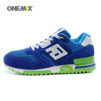Onemix suede retro running shoes outdoor men sport sneakers comfortable male jogging shoes zapatos de los hombres boy shoes