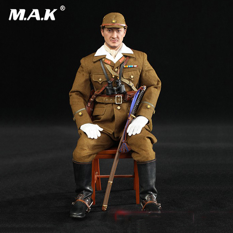 Full set 1/6 Scale Military soldier model 3R JP639 Military figure model 1/6 Scale Japan Lieutenant figure doll