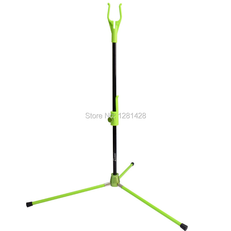 New Elong Outdoor Green Color Archery Removable Bow Stand Holder For Recurve Bow&Youth Archer Shooting,1PCS/LOT+Free Shipping 54 youth bow