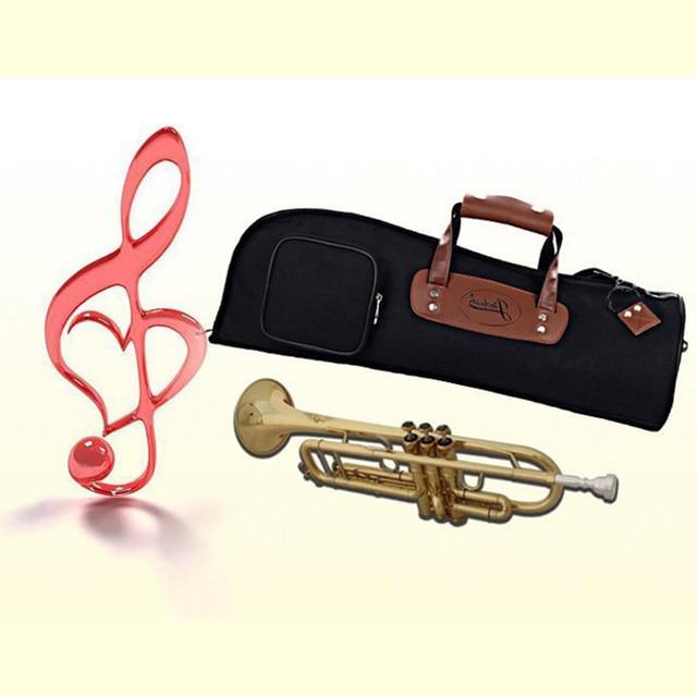 New Wholesale professional portable durable trumpet bag waterproof backpack shoulder straps soft gig case padded cover pocket