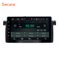 Seicane 8 core Android 8.0 car Stereo Radio GPS Headunit Navigation Player for 1998 2006 BMW 3 Series E46 323i 325i with 4G RAM