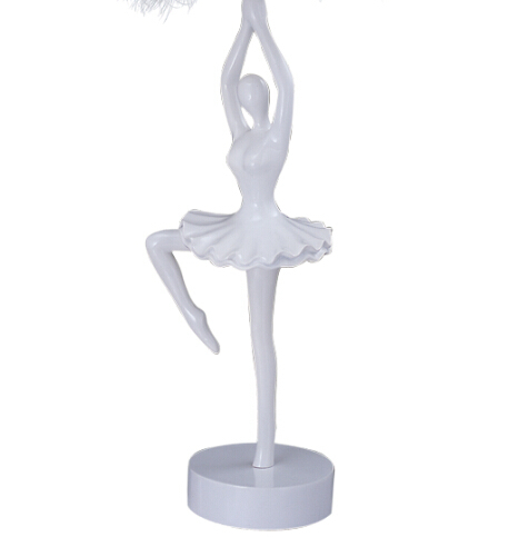 FUMAT Ballerina Table Lamps Modern Ballerina Lamp For Bedroom White Resin  Ballet Dancer Table Lamp Living Room Table Light  In LED Table Lamps From  Lights ...