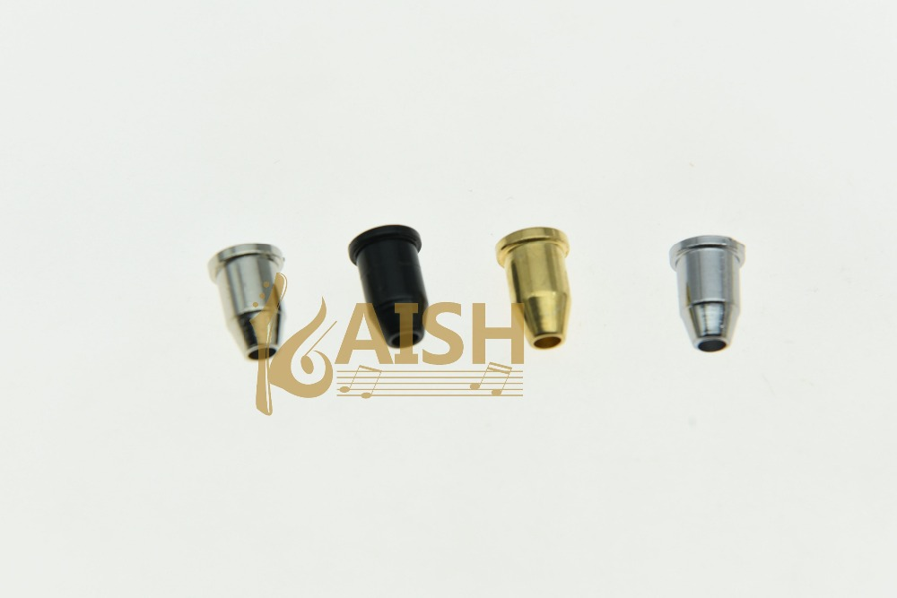 KAISH 6x <font><b>Guitar</b></font> String Through <font><b>Body</b></font> Ferrule 1/4