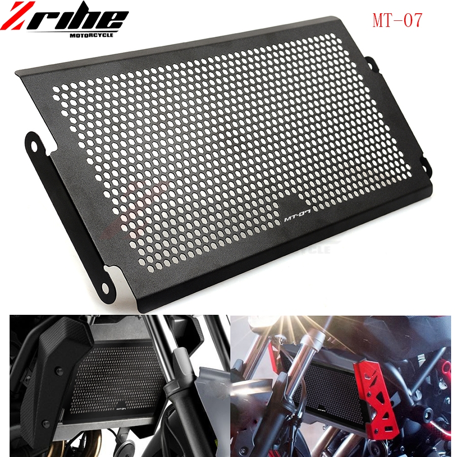 for Radiator Protective Cover Grill Guard For Yamaha MT-07 MT07 2014 2015-2016 Grille Guards mt07 mt 07 mt-07
