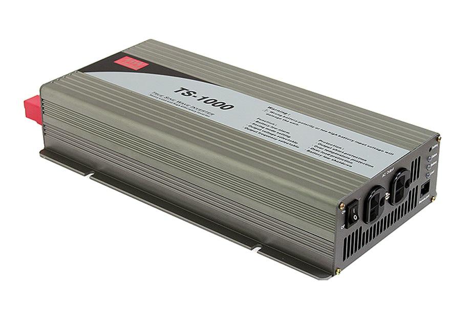 PowerNex  MEAN WELL originale TS-1000-248D ROYAUME-UNI Standard 230 V  meanwell TS-1000 1000 W Vraie Onde sinusoïdale DC-AC Power onduleur 8253b9db3e7