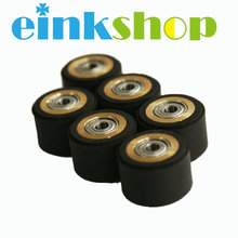цены на 6pcs Pinch Roller  For Mimaki Cutting Vinyl Plotter Cutter 4X11X16mm For Graphtec Cutting Plotter Rubber Roller Pinch Roller   в интернет-магазинах