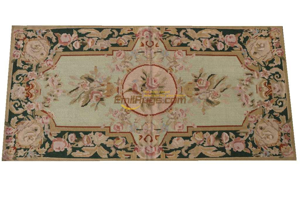 Style luxe aiguille Point main-tissé tapis aiguille point tapis de chine laine à tricoter tapis chambre tapis tapis coureur