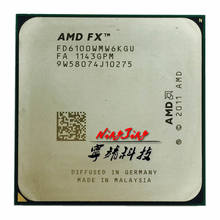 AMD FX-Series FX 6100 3.3 GHz Six-Core CPU Processor FD6100WMW6KGU Socket AM3+(China)