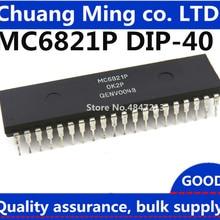 10 шт./лот MC6821P MC6821 EF6821P 6821 DIP40