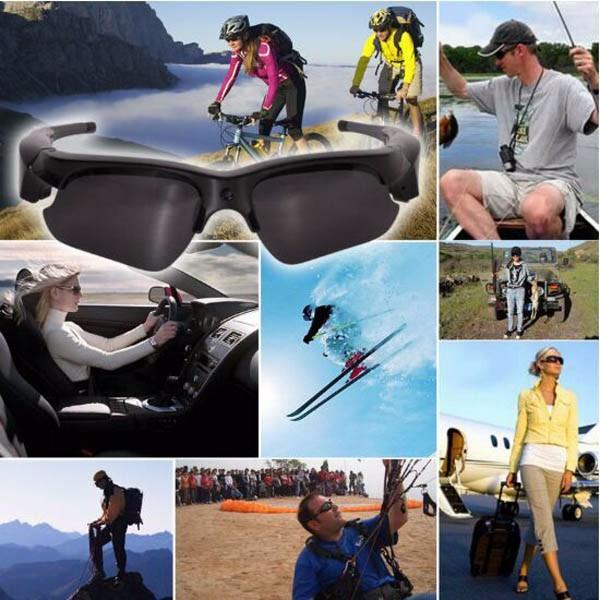 Hot HD 720P Sunglasses Glasses Camera  (14)