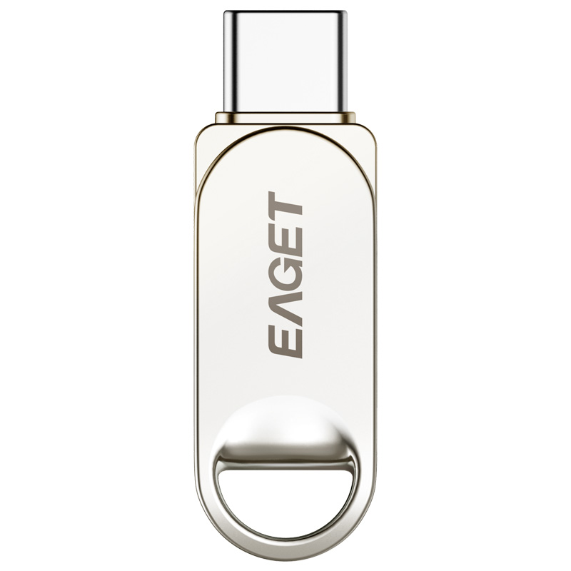 Eaget CU30 USB Flash Drive 32gb 64gb 128gb Metal Pen drive 64GB Type-C mini flash disk cle Usb 3.0 Key Pendrive 128gb USB stick