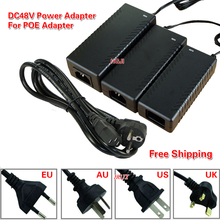 AC100-240V Adaptor To DC48V0.8a 48v1a 2A 3A Power Adapter DC48V 40W 48W 96W 48v 3a For POE Switch for CCTV Camera power supply(China)