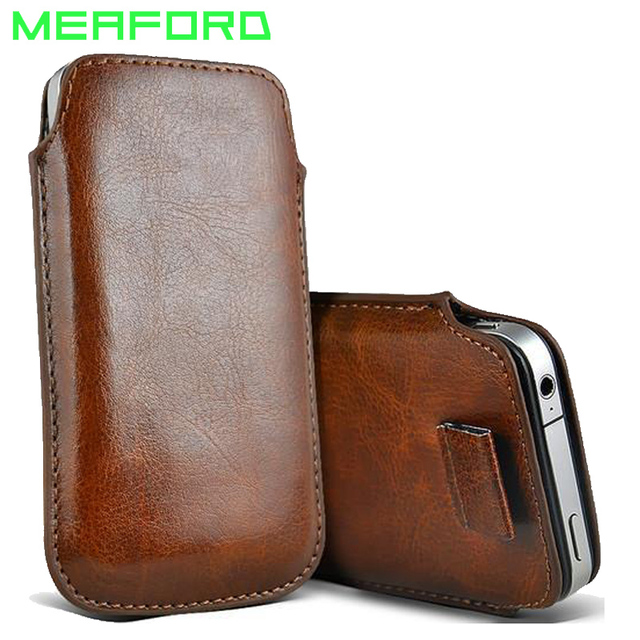 best service 88f36 e6227 US $1.89 5% OFF|Leather Pouch Coque For iPhone X S Case Pocket Rope Holster  Pull Tab Pouch Cover For iPhone XS X Accessories PU Phone Bag Case-in ...