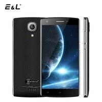 E & L J7 3G Unlocked Dual Sim Telefonów komórkowych Android 6.0 MTK6580 Quad Core 1 + 8 GB Smartphone 5 Cal Corning Gorilla Glass telefon komórkowy